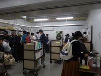 """Oct-29 [Report] Thank you for visiting """"Book Recycle sale"""" at The 14th Nagoya University Home Coming Day"""